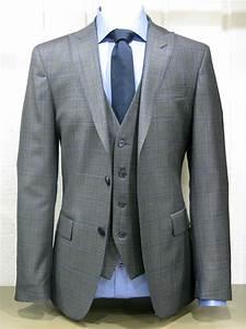 Costume 3 Pièces Gris : costume alessandro 3 pi ces gris prince de galles bleu alessandro paris ~ Dallasstarsshop.com Idées de Décoration