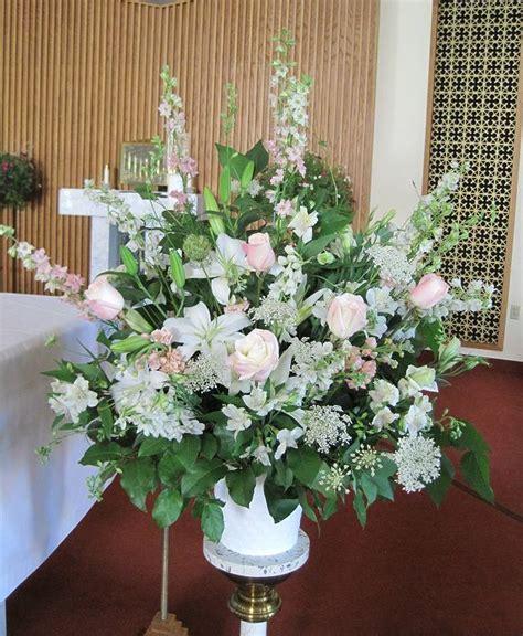 wedding ceremony flowers shahis wedding church wedding