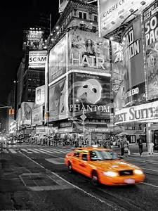 New York Leinwand : new york yellow als leinwand von licht werk e ~ Markanthonyermac.com Haus und Dekorationen