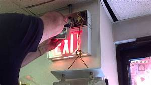 Exit Sign - Emergency Light Repair