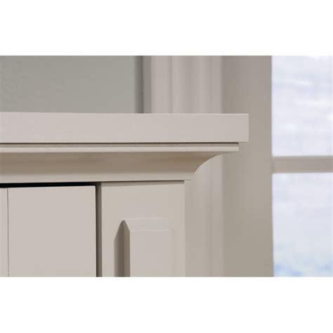 new grange 2 door accent storage cabinet cobblestone sauder 2 door chest in cobblestone 419135