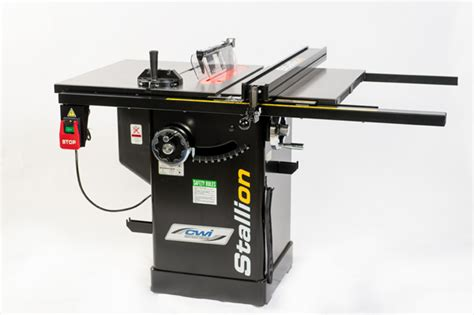 cabinet table saw canada stallion 1 5 hp 10 quot cabinet saw w 30 quot deluxe fence cwi