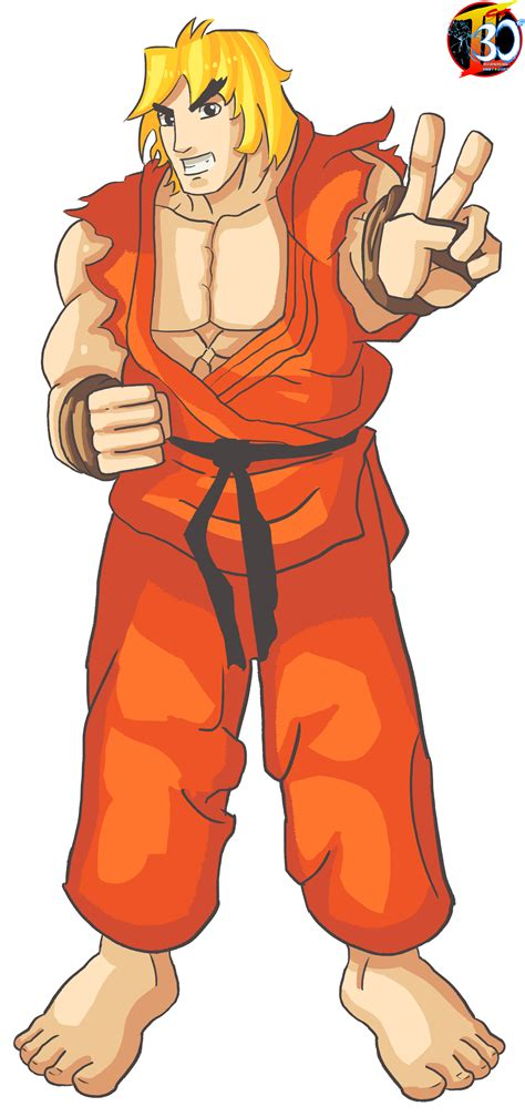 The Street Fighter 30th Tribute Ken Masters Is No Longer