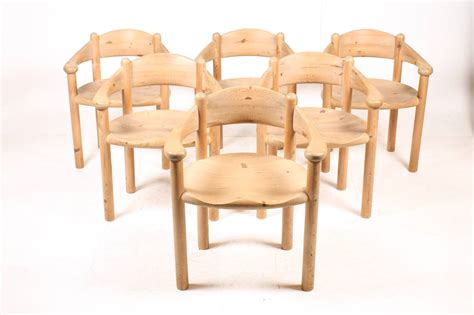 of dining chairs in pine for sale at 1stdibs