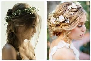 Couronne Fleur Cheveux Mariage : couronne cheveux mariage ~ Melissatoandfro.com Idées de Décoration