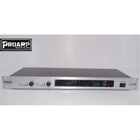 Power Amp classD แอมป์คลาสดีรุ่นPSD D1000วัตร เสียงดี ...