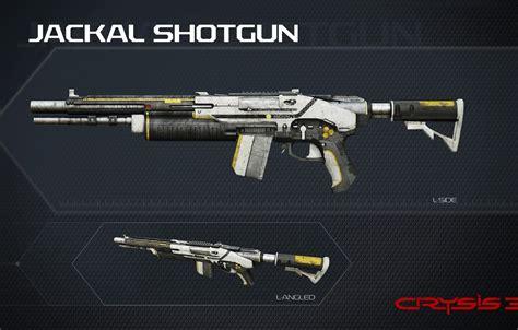 Wallpaper Crysis, Gun, Game, Weapon, Shotgun, Crysis 3