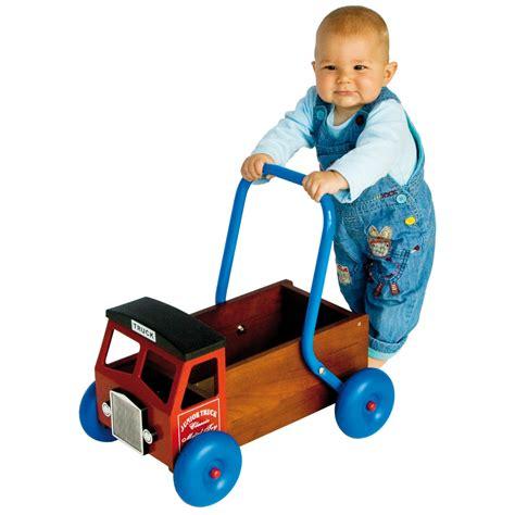 walker truck walkers toys wooden babies toddler zomer speelgoed bricks previous