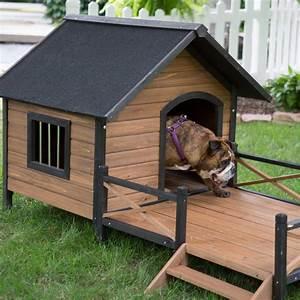 Your big friend needs a large dog house mybktouchcom for Dog houses for medium dogs