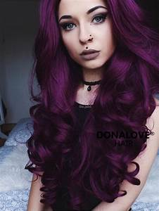 25 Best Ideas About Purple Hair On Pinterest Dark