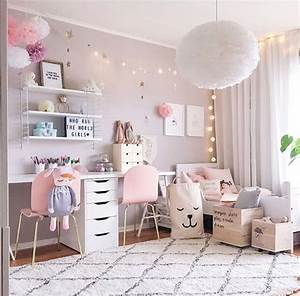 belle chambre de fille - shop the room d coration chambre fille rose pastel