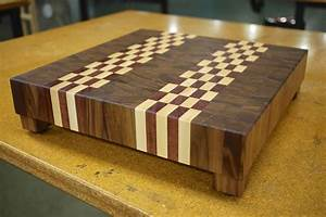 Woodworking Making walnut end grain cutting board Plans