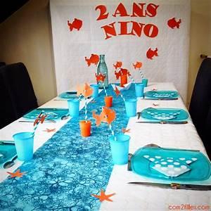 Deco Anniversaire 10 Ans : idee deco anniversaire garcon 10 ans table de lit ~ Melissatoandfro.com Idées de Décoration