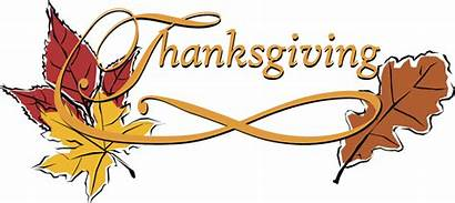 Thanksgiving Word Happy Clip Clipart Leaves Words