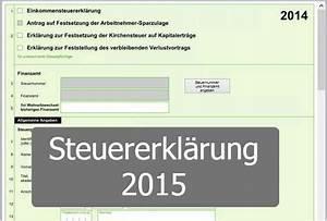 Einkommensteuererklärung 2015 Berechnen : steuererkl rung 2015 alle neuerungen und fristen ~ Themetempest.com Abrechnung
