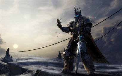 Warcraft Lich King Arthas Games 4k Gaming