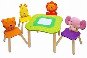 Table Enfant Avec Chaise : table fauteuil et chaise enfant id es super sympa 23 photos ~ Teatrodelosmanantiales.com Idées de Décoration