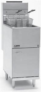 Pitco Frialator Gas Fired Deep Fat Fryers