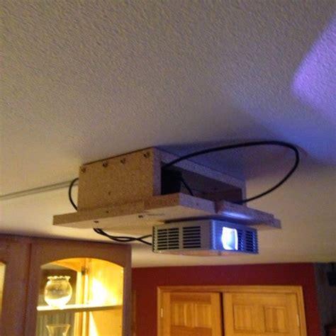 diymodblog projector hush box