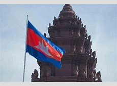 The proud Cambodian flag Picture of Independence