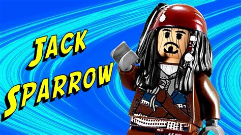 Lego Captain Jack Sparrow 30132 Pirates Of The Caribbean
