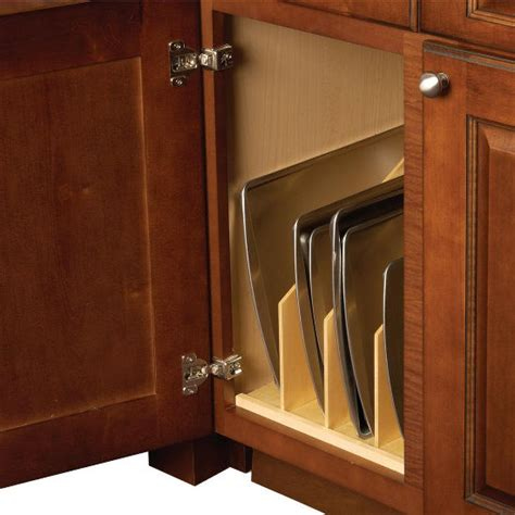 tray dividers for kitchen cabinets hafele wood tray divider for kitchen base or cabinet 8587
