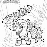 Skylanders Blast Zone sketch template