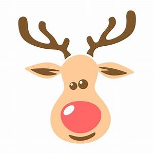 Reindeer Cute Cuttable Svg Design Frames
