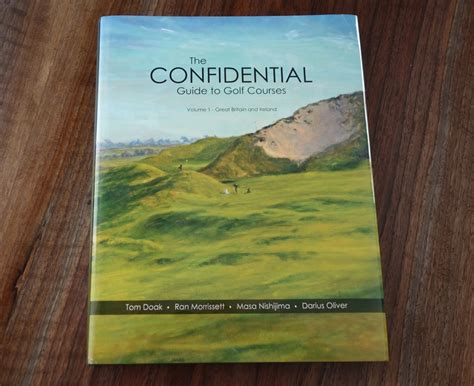 Design Confidential St Scotland by Confidential Guide To Golf Courses Vol 1 Review Graylyn