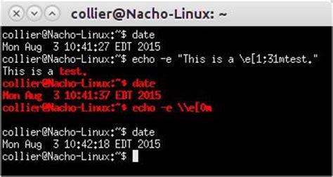 ansi codes   posix terminal dcjtechinfo