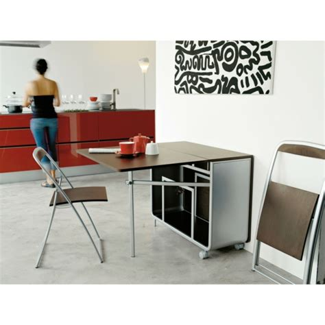 table pliante cuisine designs créatifs de table pliante de cuisine archzine fr