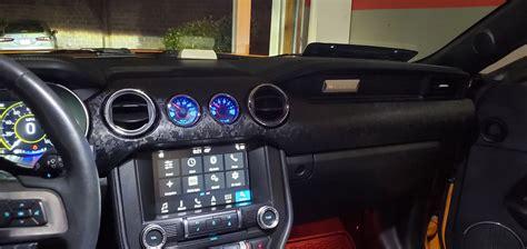 painted dash trim customization   mustang forum