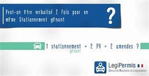 Amende Stationnement Genant : 2 amendes pour un m me stationnement g nant legipermis ~ Medecine-chirurgie-esthetiques.com Avis de Voitures
