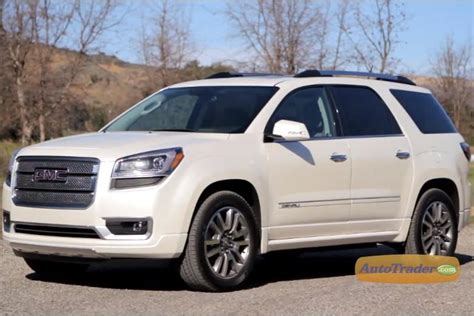 gmc acadia  informations articles