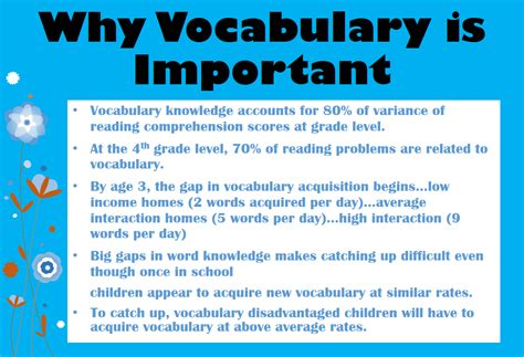 Vocabulary Instructionwhat, Why, How, And When  Comprehension Connection