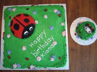 strive for less kiana s ladybug and lan cakes