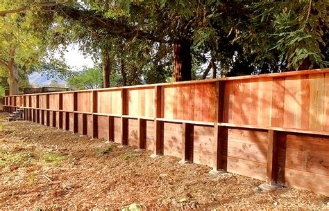 pressure treated retaining wall retaining walls construction portfolio a and j fencing