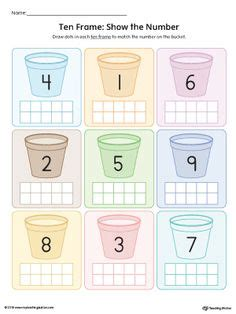 numbers counting images numbers kindergarten