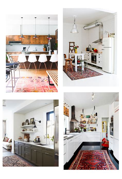 Vintage, Persian, Kilim & Turkish Rugs In The Kitchen