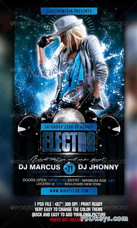 download graphicriver electro dj party flyer template 6502526 electro party flyer 2196092 187 free download photoshop