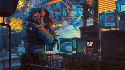Cyberpunk Sci Fi 4k Futuristic Colorful Toy