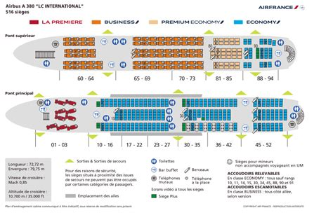 plan siege air air re configuration des a380 en vue air info