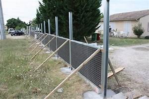 Poteau A Linge En Beton Brico Depot : panneaux bois pour cl ture jardin ~ Dailycaller-alerts.com Idées de Décoration