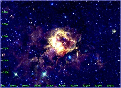 Diffuse Objects Glimpse The Galactic Legacy Infrared