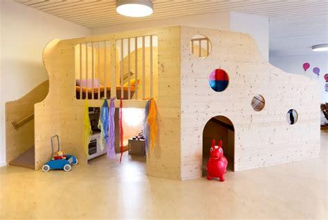 Vorhänge Kinderzimmer Ideen by Zweite Spielebene Kindergarten Schreinerei Teningen