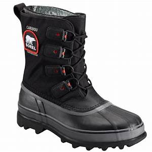 Sorel Caribou XT Mens Black Insulated Winter Boots