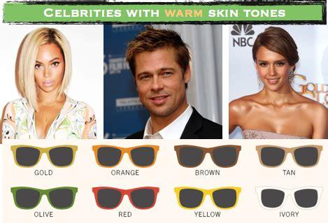 color sunglasses   skin