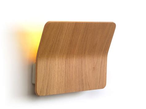 Applique Legno by Applique A Led In Legno Kito Luxcambra