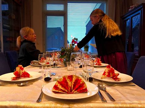 weihnachten in den niederlanden weihnachten in den niederlanden tisch decken buurtaal