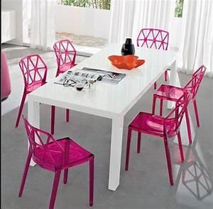 chaise salle a manger plexiglas With meuble salle À manger avec chaise salle a manger plexi